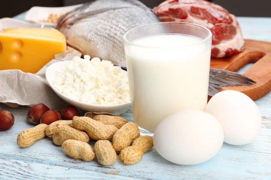Продукти, що містять білок