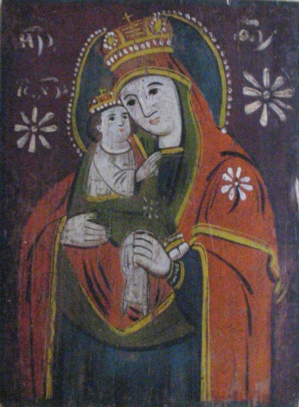 Народна ікона.Чернігівська Богородиця