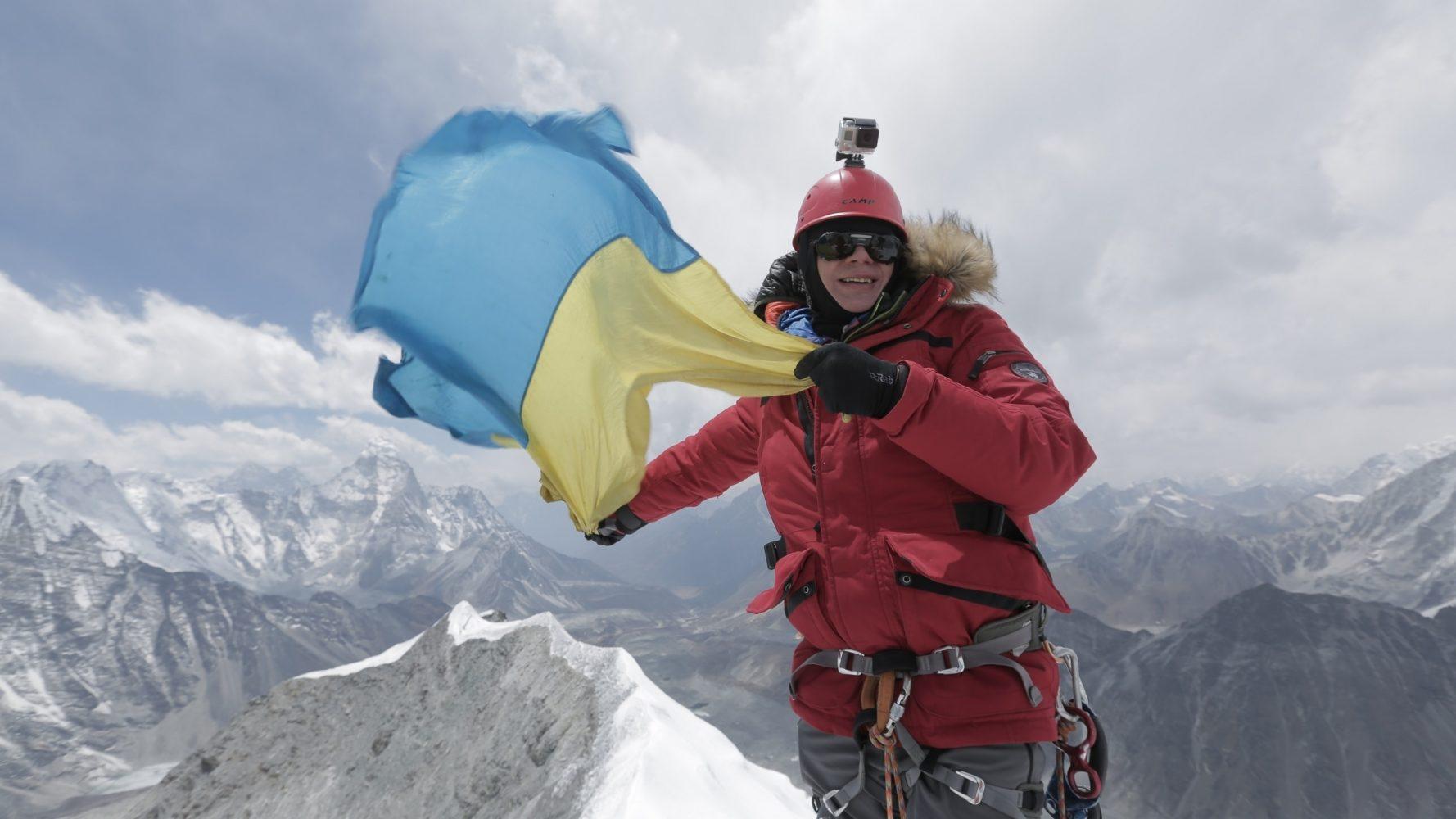 Дмитро Комаров на вершині