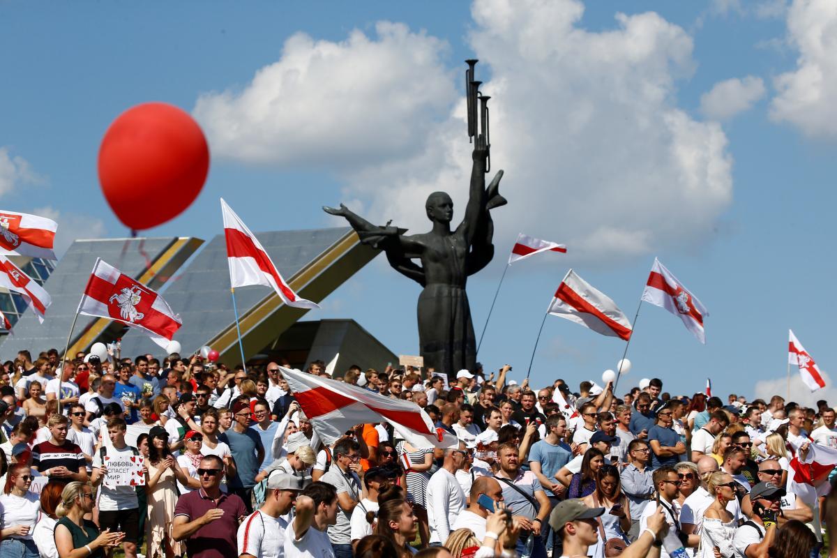 Протесні акції у Білорусі 20 вересня
