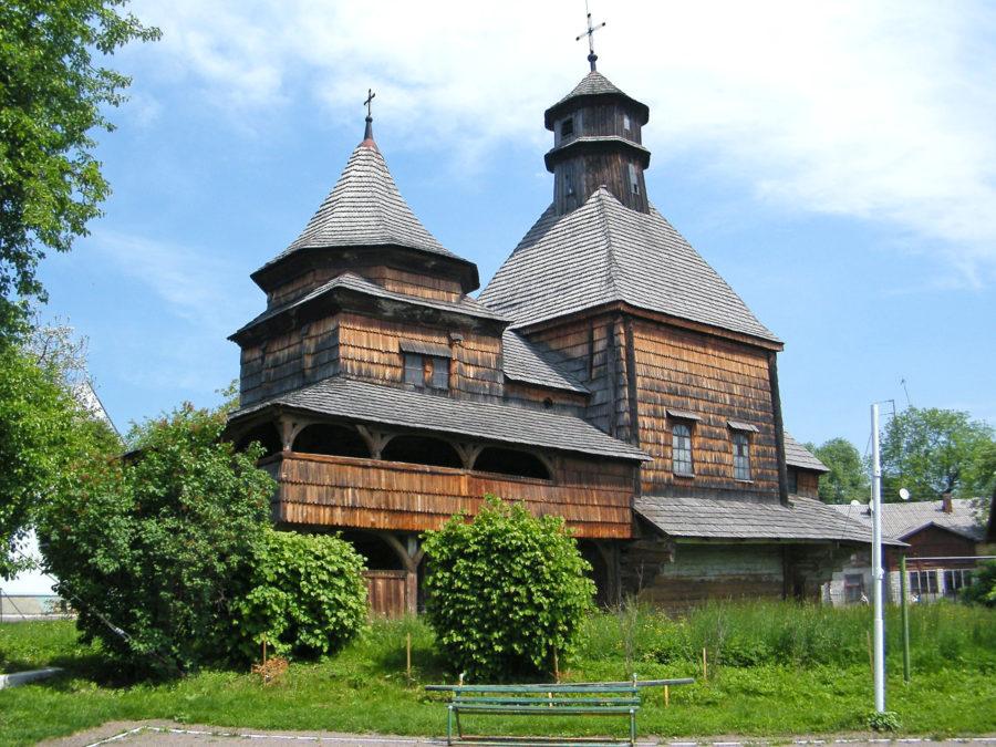 Церква Воздвиження. Пам'ятка архітектури XVIIст. м.Дрогобич