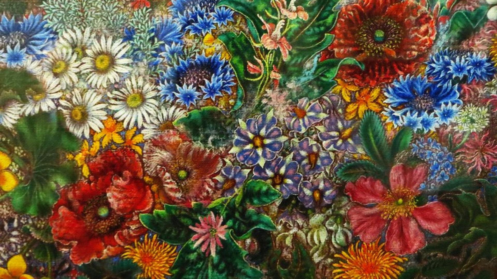 Квіти Катерини Білокур