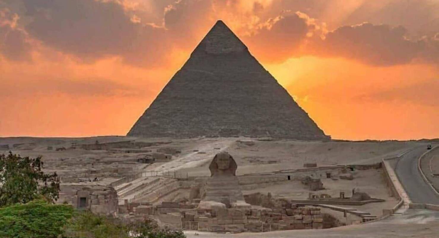 Велика Піраміда Гізи. Піраміда Хеопса