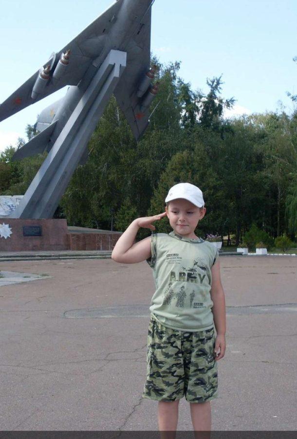 Антон Степченко, 13 років