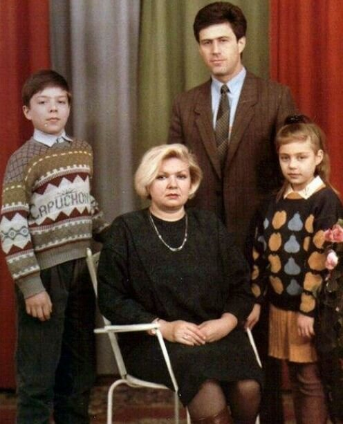 Тіна Кароль з сім'єю в дитинстві