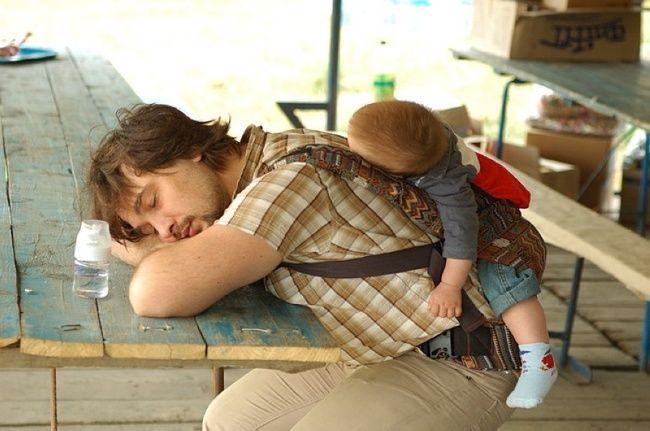 Батько з малюком