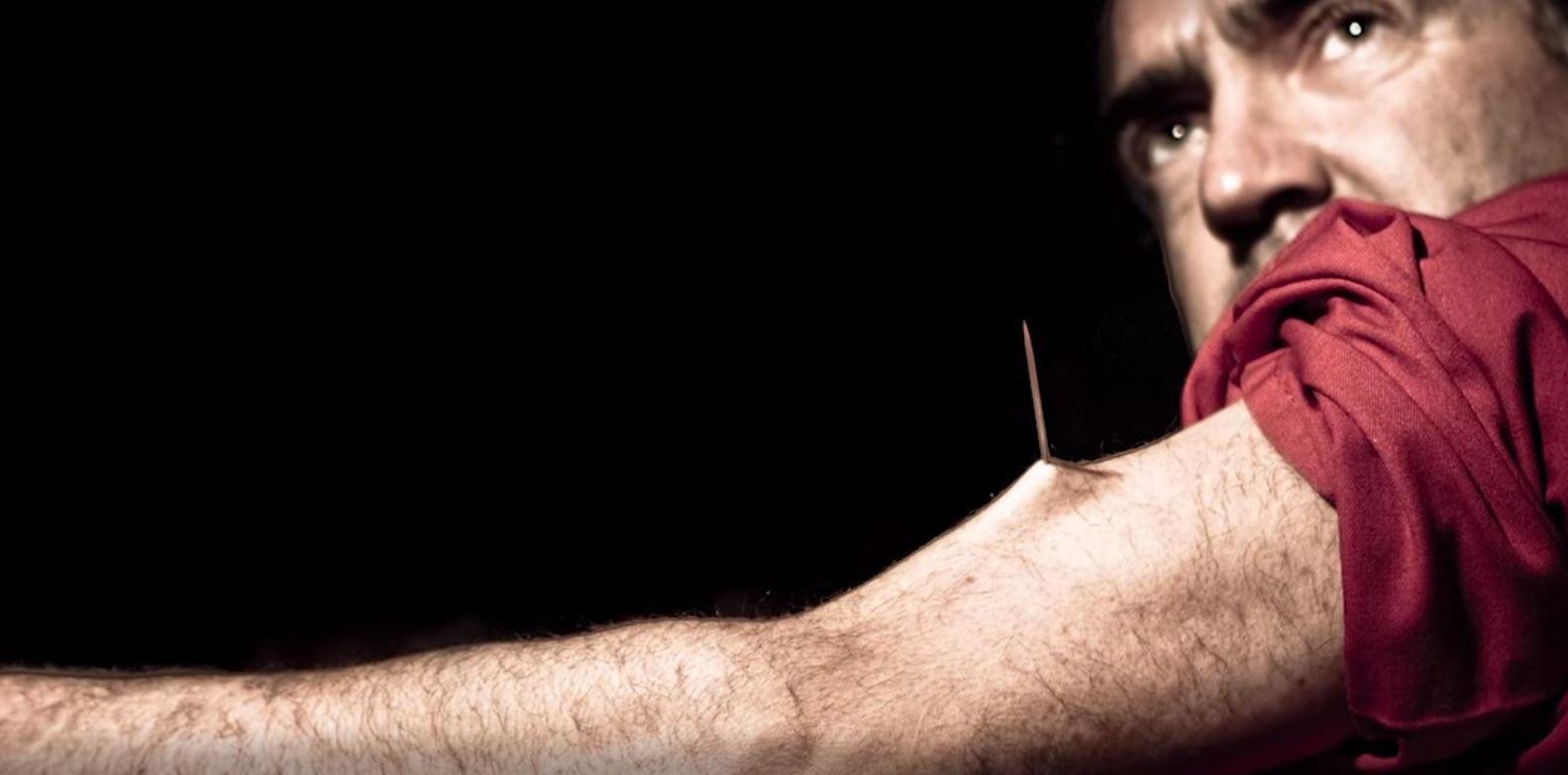 Тім Криндланд - людина, що не відчуває болю