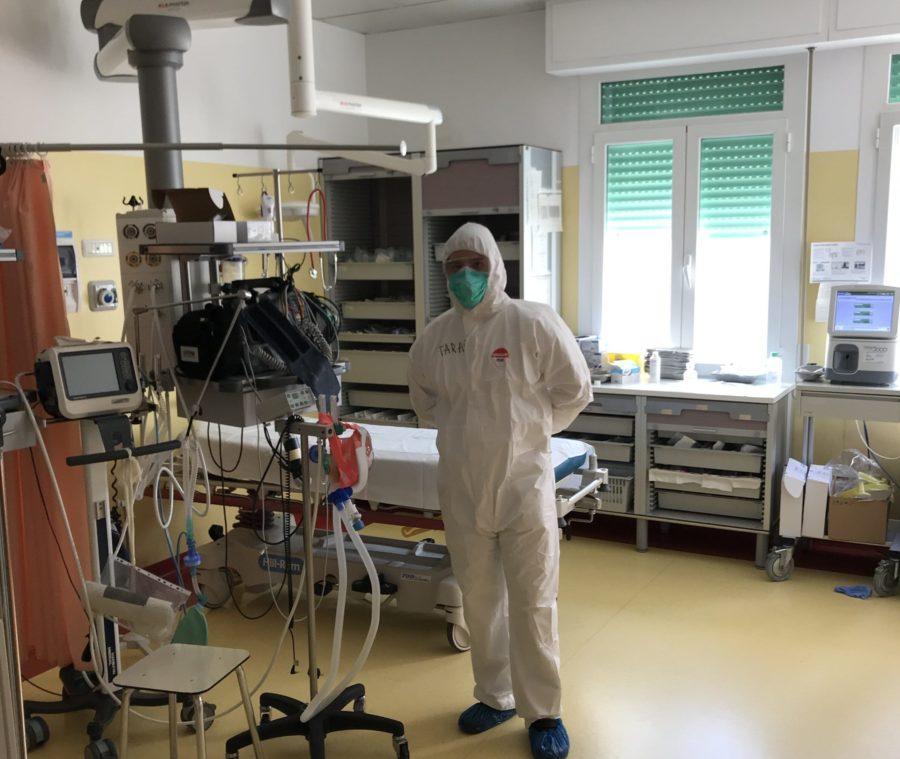 Обладнання для штучної вентиляції легенів