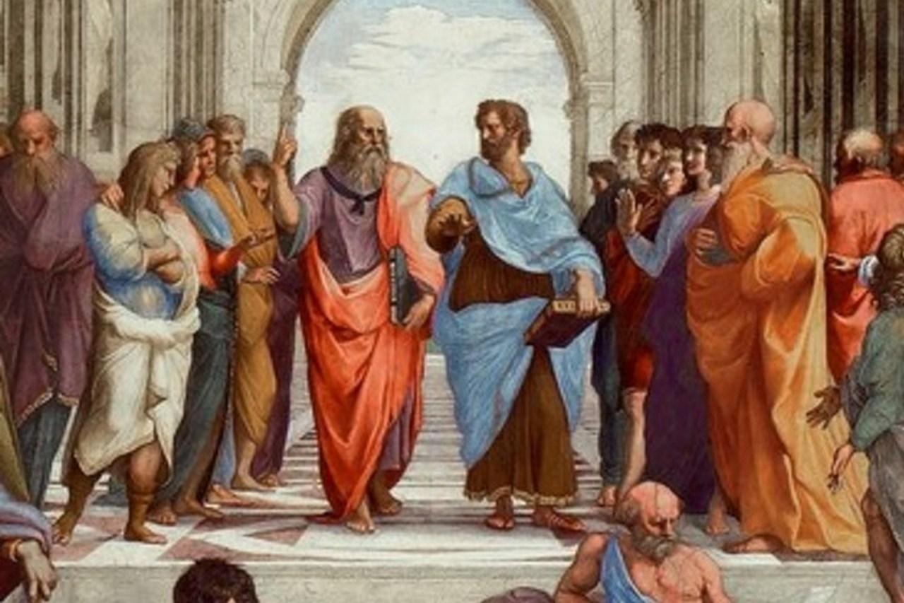 Платон і Аристотель, худ.Рафаель