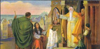Образ Введення в храм Пресвятої Богородиці