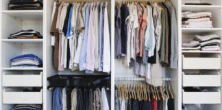Як зберігати речі в шафі