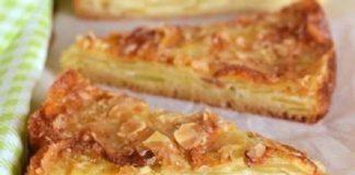 Яблучний пиріг зі скоринкою рецепт