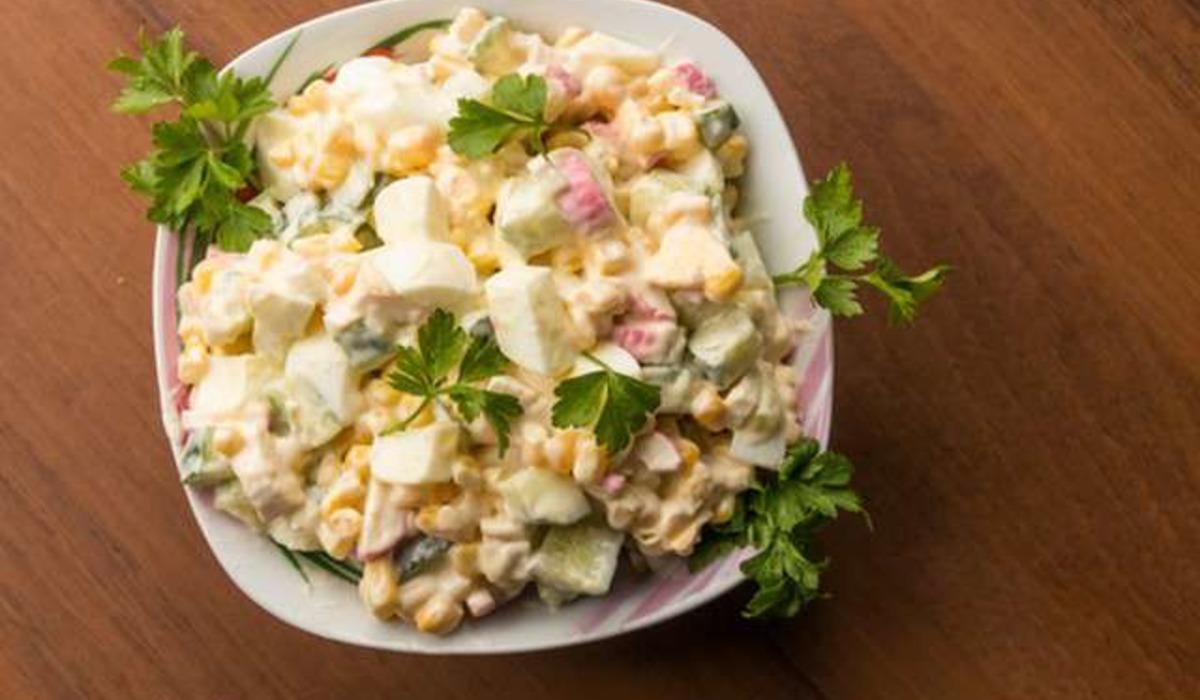 Крабовий салат рецепт