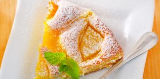 Пиріг з персиками рецепт
