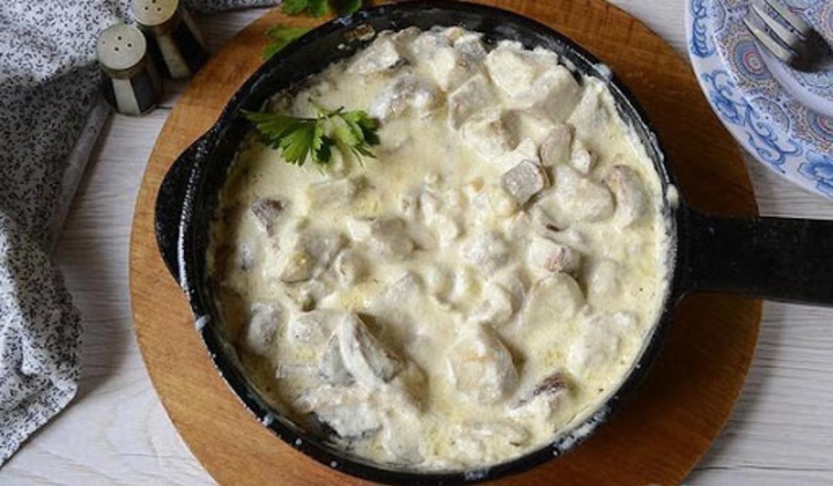 Білі гриби рецепт