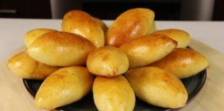 Пиріжки на кефірі з сиром рецепт