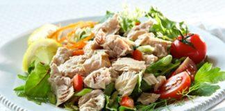 Салат з тунцем рецепти