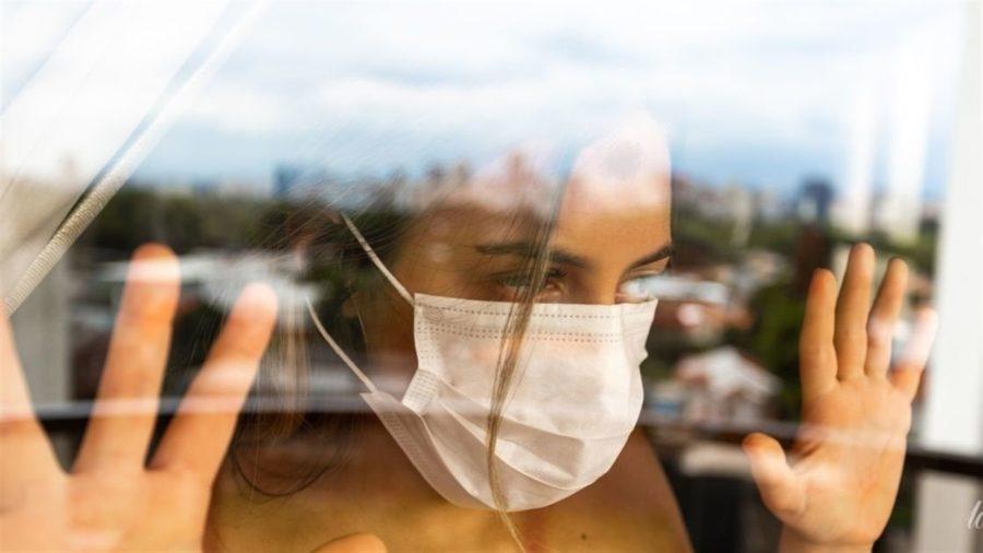 Коронавірус на склі