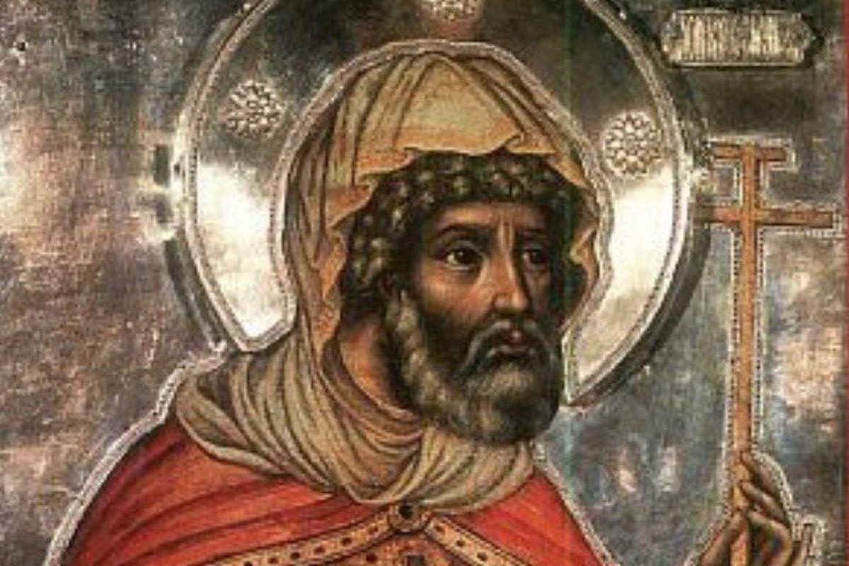 Святий мученик Лонгин Сотник