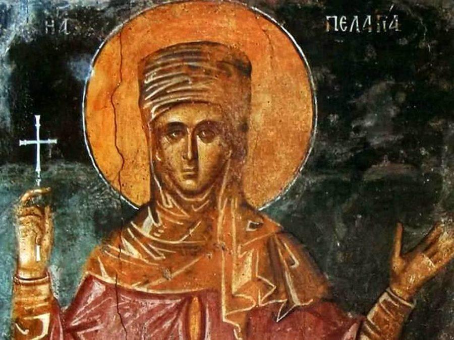Ікона Преподобна Пелагея Антіохійська