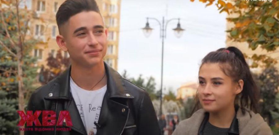 Роман Сасанчин з дівчиною