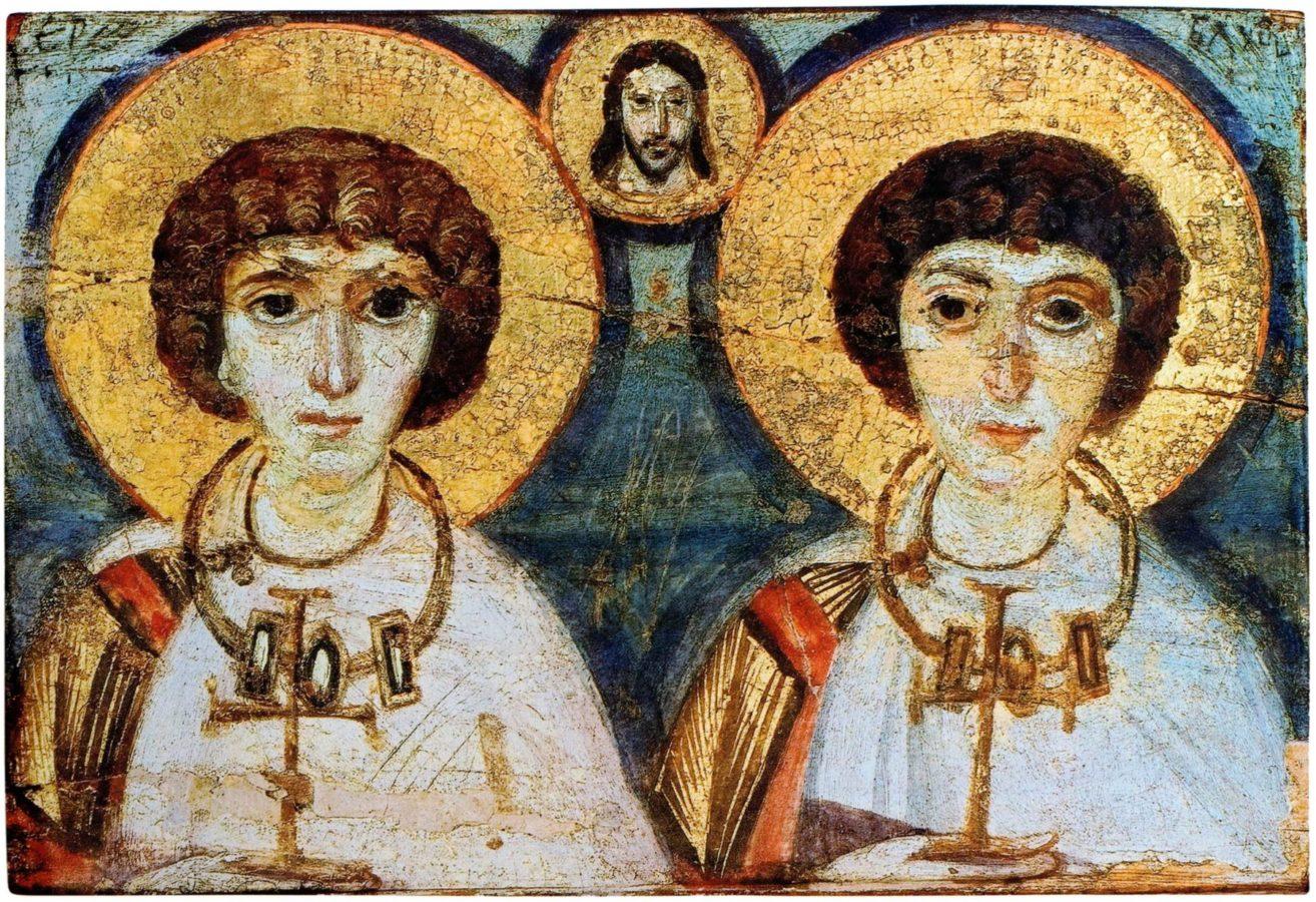 Ікона святих Сергія і Вакха