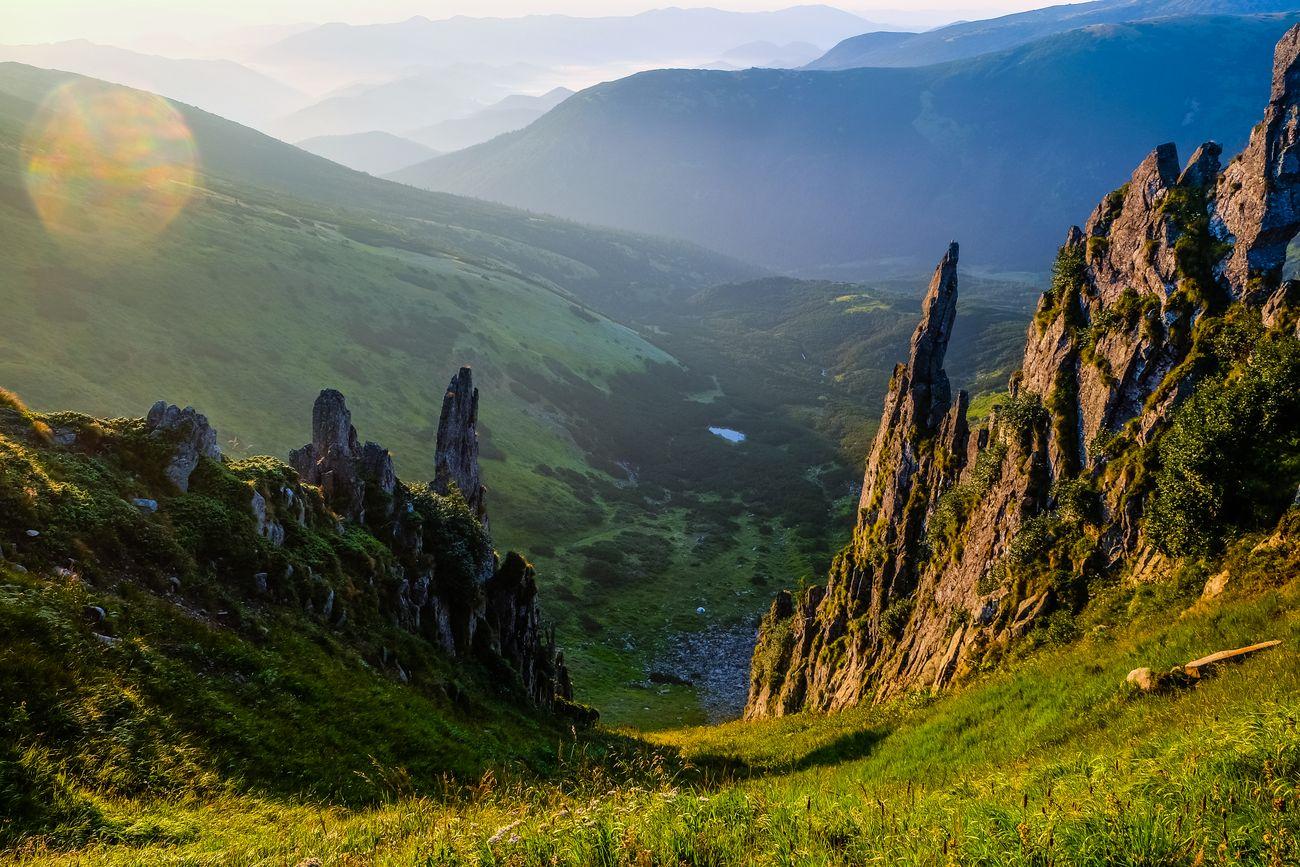 Неземний пейзаж гори Шпиці