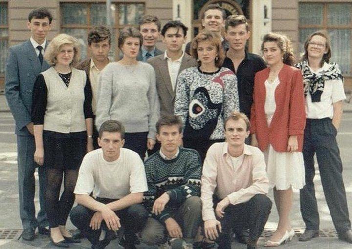 Святослав Вакарчук в студентські роки