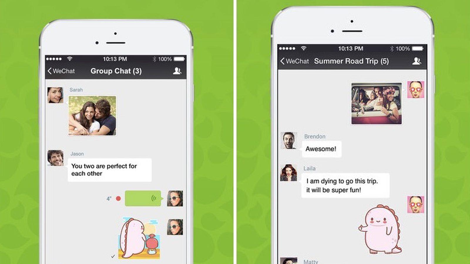 Китайський додаток WeChat