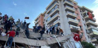 Землетрус біля берегів Туреччини