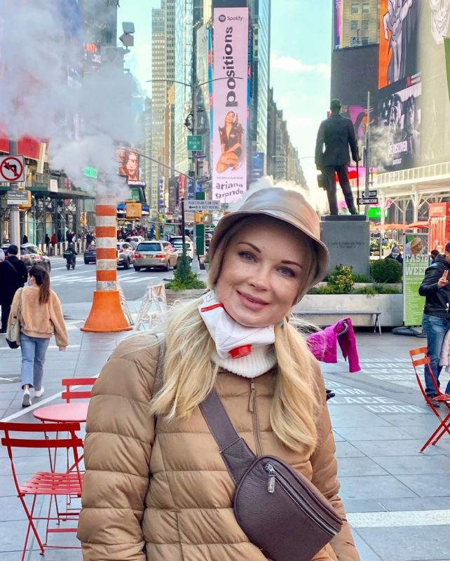 Лідія Таран у Нью-Йорку