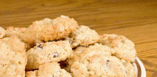 Печиво з яблуками і горіхами рецепт