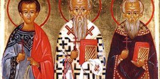 Святі мученики Акепсим, єпископ, Йосиф, пресвітер, й Айтал, диякон