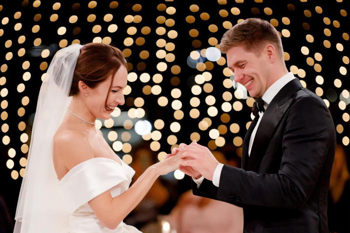 Щасливі Володимир і Христина Остапчуки
