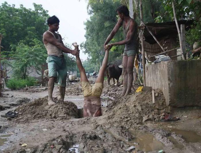 Поширений спосіб ремонту каналізації