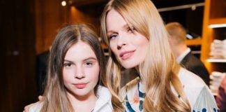 Ольга Фреймут з донькою Златою Мітчелл