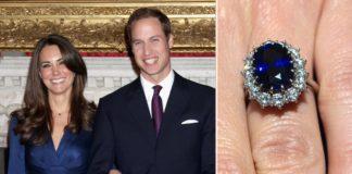 Обручка герцогині раніше належала принцесі Діані