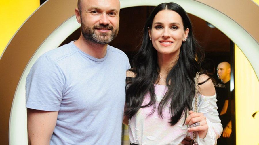 Маша Єфросиніна з чоловіком Тимуром