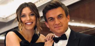 Регіна Тодоренко зі своїм чоловіком Владом Топаловим