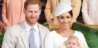 Герцог і герцогиня Сассекські з сином Арчі