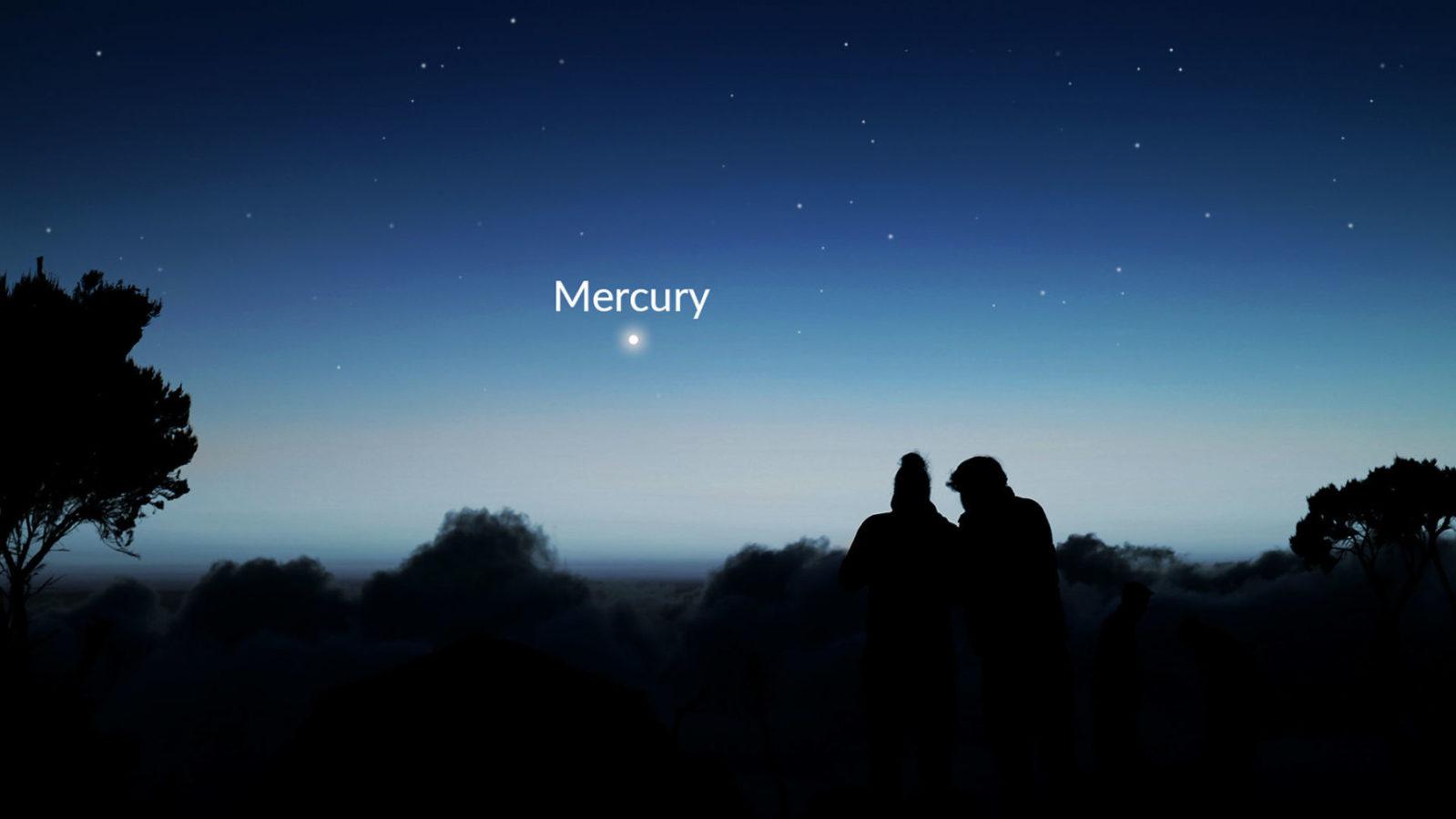Планета-неведимка Меркурій