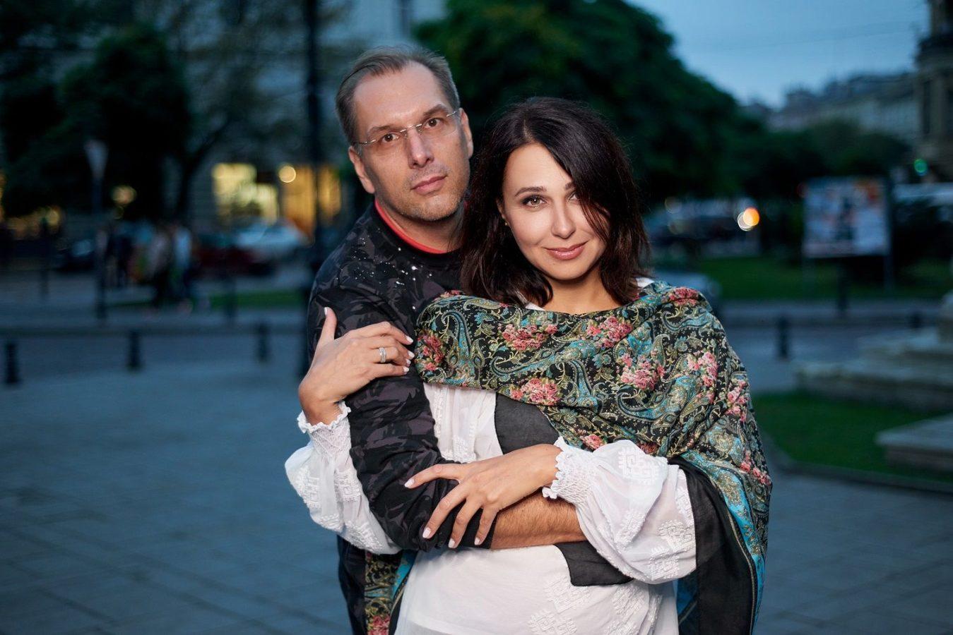 Наталія Мосейчук з чоловіком Іллею