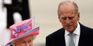 Британська королева з чоловіком принцом Філіпом