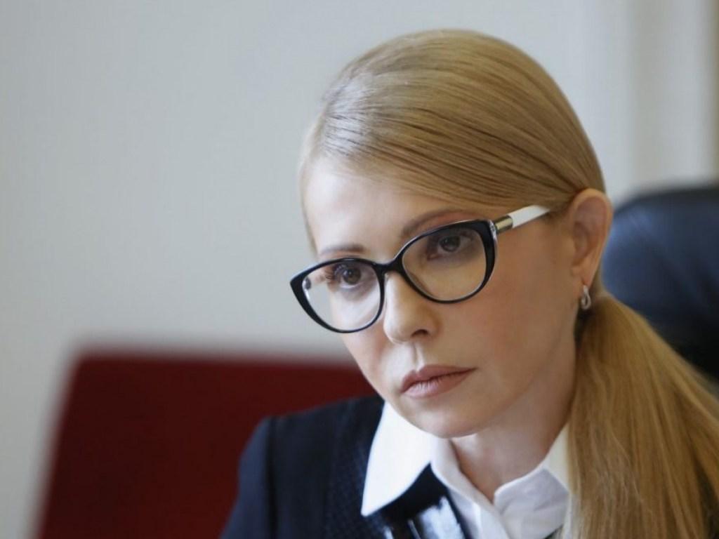 Нинішня зачіска Юлії Тимошенко