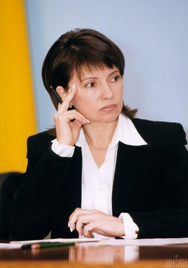 Юлія Тимошенко на початку кар'єри