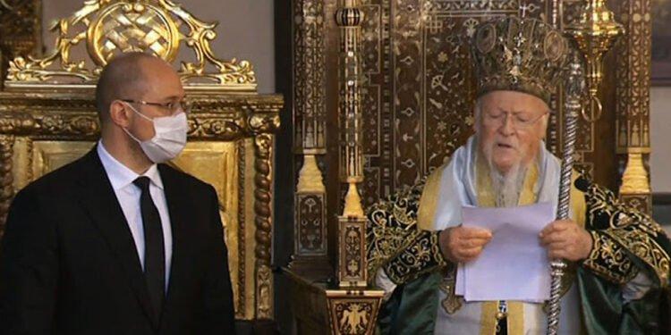 Вселенський Патріарх і прем'єр-міністр України
