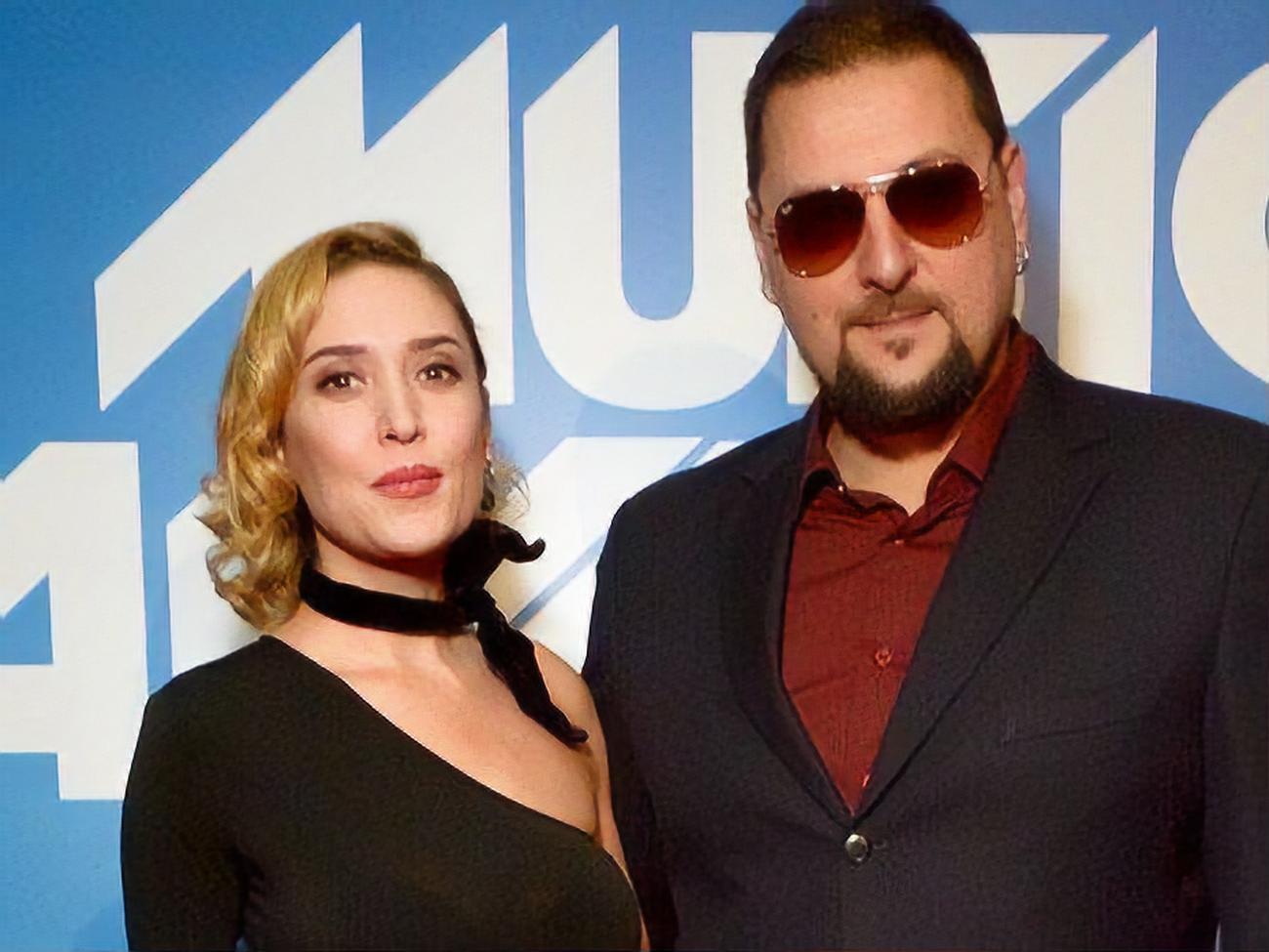 Альона Вінницька з чоловіком Сергієм Большим