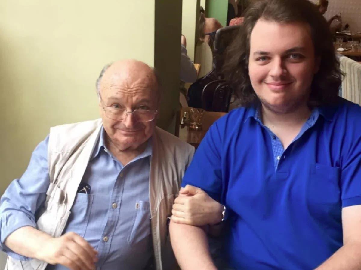 Михайло Жванецький з сином Дмитром