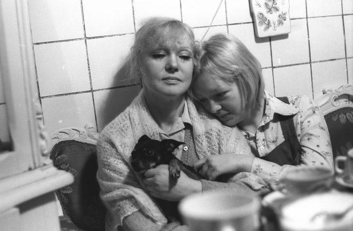Гурченко з донькою