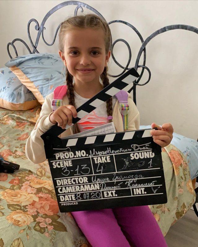 Донька Ребрик знімається у кіно